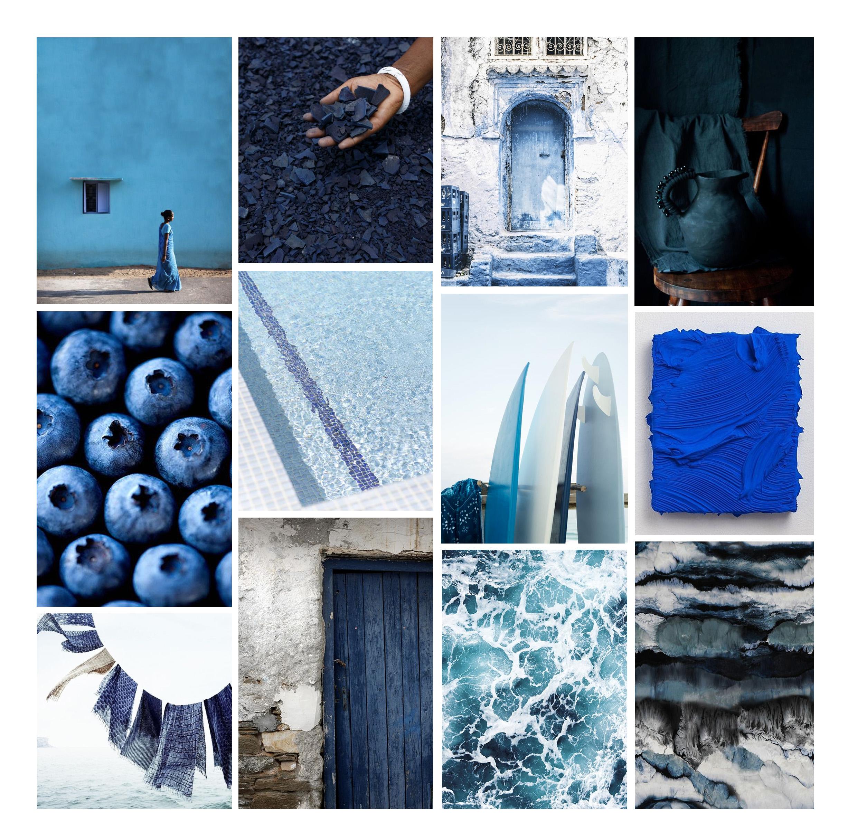 Psychologie des couleurs : le bleu