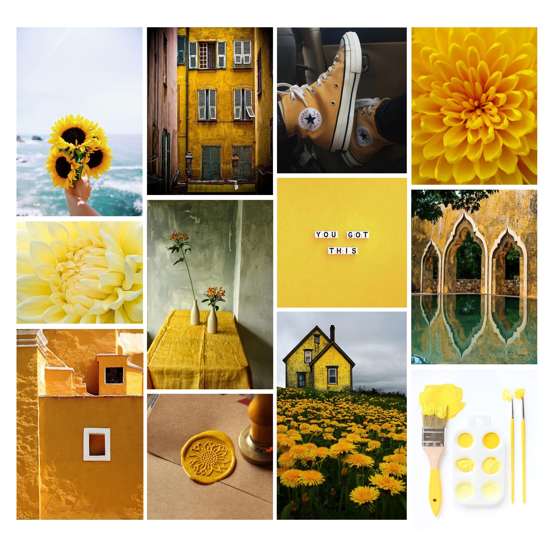 Psychologie des couleurs : le jaune