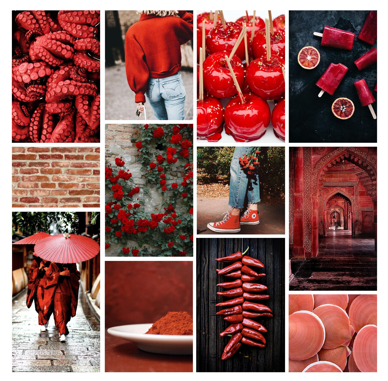 Psychologie des couleurs : le rouge