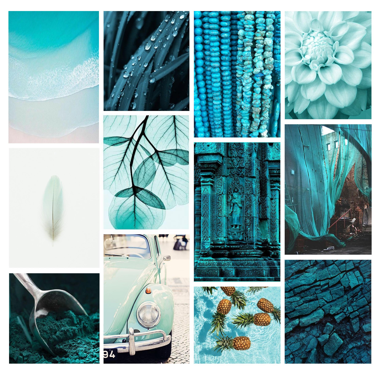 Psychologie des couleurs : le turquoise